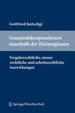 Gemeindekooperationen innerhalb der Kleinregionen