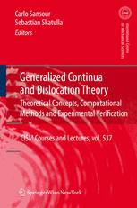 Generalized Continua and Dislocation Theory
