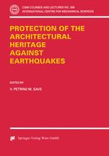 Protection of the Architectural Heritage Against Earthquakes