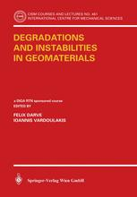 Degradations and Instabilities in Geomaterials