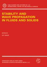 Stability and Wave Propagation in Fluids and Solids