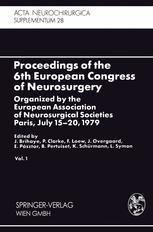 Proceedings of the 6th European Congress of Neurosurgery