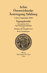 Achte Österreichische Ärztetagung Salzburg