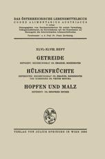 Getreide / Hülsenfrüchte / Hopfen und Malz