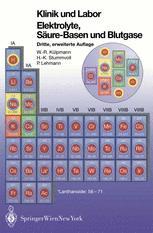 Klinik und Labor Elektrolyte, Säure-Basen und Blutgase