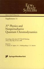 N* Physics and Nonperturbative Quantum Chromodynamics
