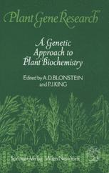 A Genetic Approach to Plant Biochemistry