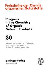 Fortschritte Der Chemie Organischer Naturstoffe