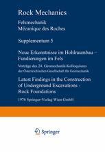 Neue Erkenntnisse im Hohlraumbau — Fundierungen im Fels / Latest Findings in the Construction of Underground Excavations — Rock Foundations