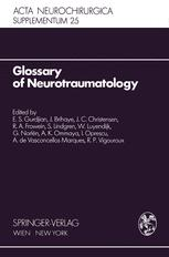 Glossary of Neurotraumatology