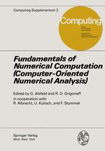 Fundamentals of Numerical Computation (Computer-Oriented Numerical Analysis)
