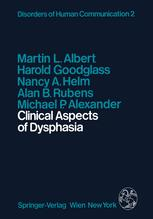 Clinical Aspects of Dysphasia