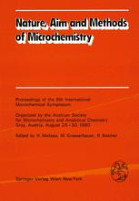 Nature, Aim and Methods of Microchemistry