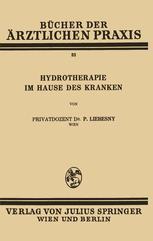 Hydrotherapie im Hause des Kranken