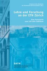 Lehre und Forschung an der ETH Zürich