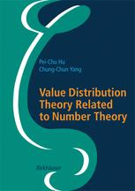 Value Distribution Theory Related to Number Theory
