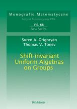 Shift-invariant Uniform Algebras on Groups
