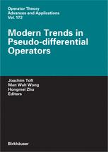 Modern Trends in Pseudo-Differential Operators