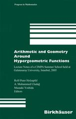 Arithmetic and Geometry Around Hypergeometric Functions