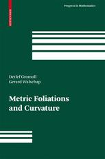 Metric Foliations and Curvature
