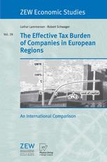 The Effective Tax Burden of Companies in European Regions