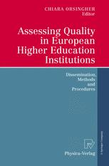 Assessing Quality in European Higher Education Institutions