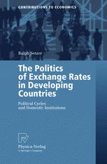 The Politics of Exchange Rates in Developing Countries