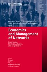 Economics and Management of Networks