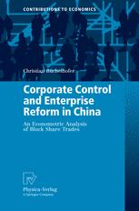 Corporate Control and Enterprise Reform in China