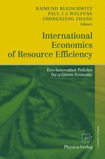 International Economics of Resource Efficiency