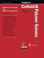 Interfaces, Surfactants and Colloids in Engineering
