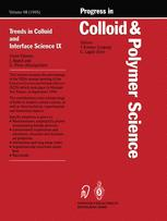 Trends in Colloid and Interface Science IX