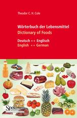 Wörterbuch der Lebensmittel – Dictionary of Foods