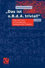 """""""Das ist o.B.d.A. trivial!"""""""