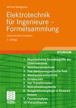 Elektrotechnik für Ingenieure – Formelsammlung