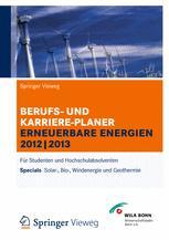 Berufs- und Karriereplaner Erneuerbare Energien