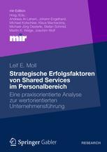 Strategische Erfolgsfaktoren von Shared Services im Personalbereich