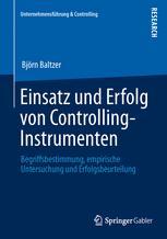 Einsatz und Erfolg von Controlling-Instrumenten