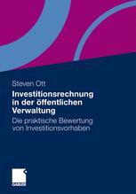 Investitionsrechnung in der öffentlichen Verwaltung