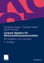 Lineare Algebra für Wirtschaftswissenschaftler