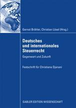 Deutsches und internationales Steuerrecht