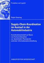Supply-Chain-Koordination im Auslauf in der Automobilindustrie