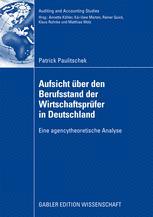 Aufsicht über den Berufsstand der Wirtschaftsprüfer in Deutschland