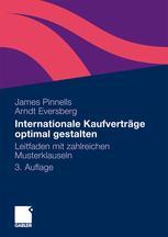 Internationale Kaufverträge optimal gestalten
