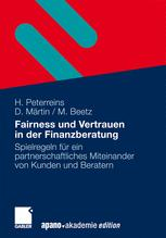 Fairness und Vertrauen in der Finanzberatung