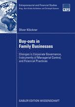 Buy-outs in Family Businesses