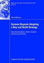 German Buyouts Adopting a Buy and Build Strategy