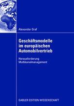 Geschäftsmodelle im europäischen Automobilvertrieb