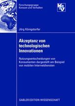 Akzeptanz von technologischen Innovationen