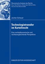 Technologietransfer im Kartellrecht